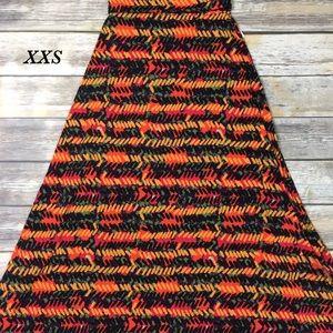 XXS LuLaRoe Maxi Skirt NWT